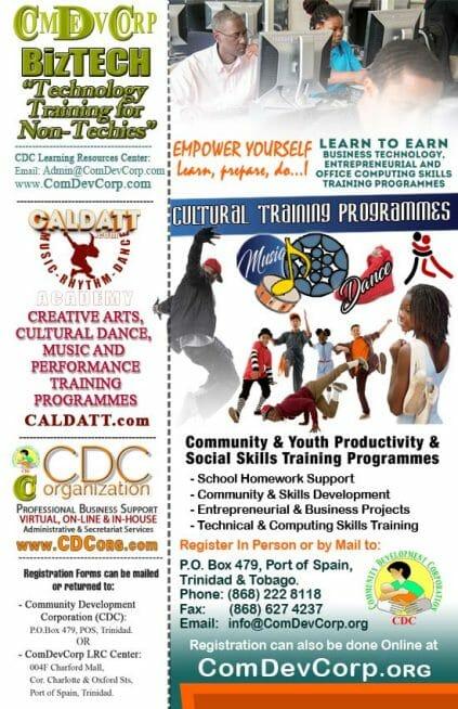 CDC BTSD Business & Technology Skills Training Programmes